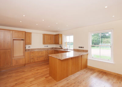 Bankton Steadings - Timber Frame Construction (Interior)